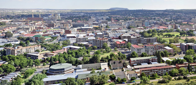 Bloemfontein: flower of the Free State